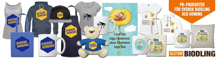 PR-Produkter för Svensk biodling, biodlare och honung
