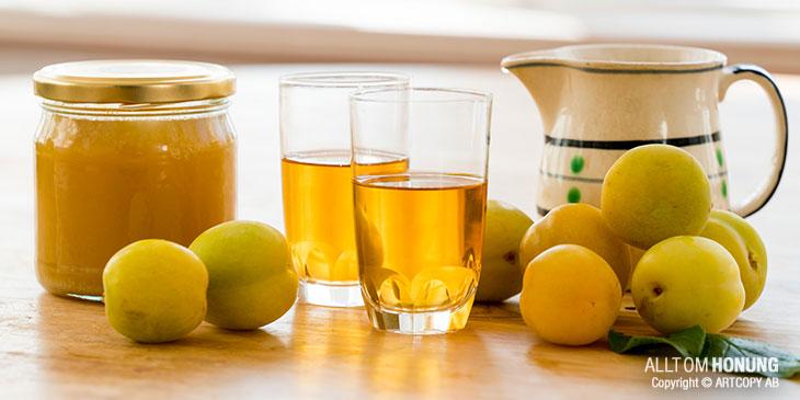 Dessertvin med plommon och honung. Foto copyright © ARTCOPY SWEDEN AB.