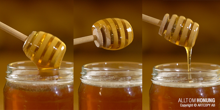 How to use a Honey dipper