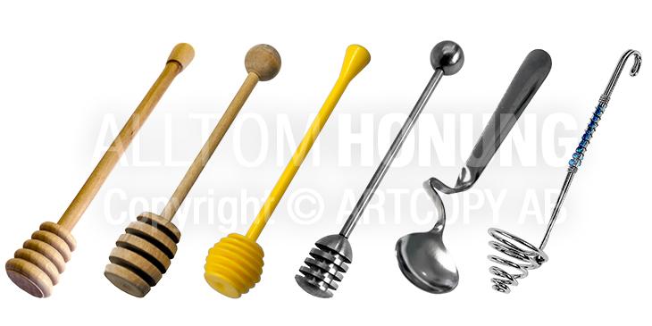 Honungsskedar - Honey Dippers - Honey Spoons